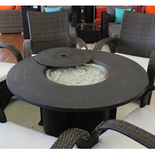 Cast Aluminum Fire Pit Table