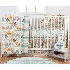 Safari 3 Piece Crib Bedding Set