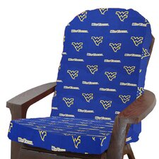 2017 Coupon NCAA West Virginia Outdoor Adirondack Chair Cushion