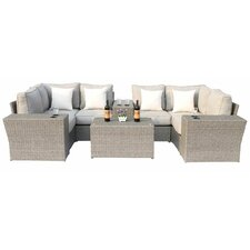 Chelsea 10 Piece Sectional Seating Group With Cushion