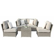 Chelsea 5 Piece Deep Seating Group with Cushion