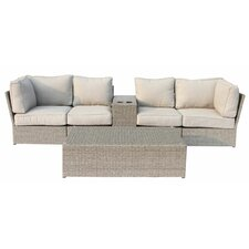 Chelsea 6 Piece Deep Seating Group with Cushion