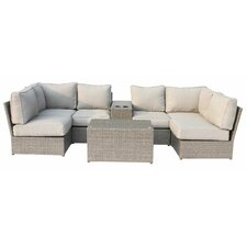 Chelsea 8 Piece Sectional Seating Group with Cushion