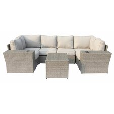 Chelsea 9 Piece Sectional Seating Group with Cushion