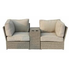 Herry Up Chelsea 3 Piece Deep Seating Group with Cushion