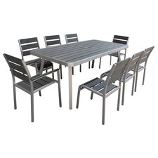 Santorini 9 Piece Dining Set