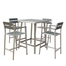 No Copoun Canaria 5 Piece Bar Set