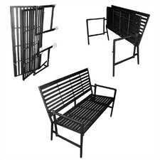 Wonderful Iron Folding Garden Bench