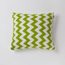 Sale Zig Zag Cotton Throw Pillow