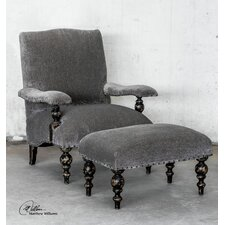 Eavan Chenille Arm Chair