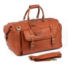 """Millionaire's 24"""" Leather Carry-On Duffel"""