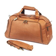 """9"""" Leather Carry-On Duffel"""