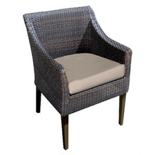 Reviews Trenton Dining Arm Chair with Cushion