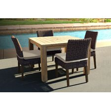 Trenton 5 Piece  Side Dining Set