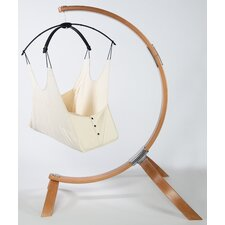 Hushamok Okoa Cotton Chair Hammock with Stand