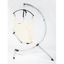 Hushamok Dream Hammock Cotton Chair Hammock with Stand