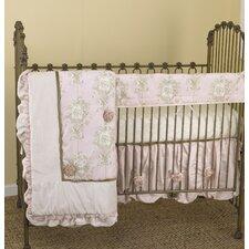 Lollipops & Roses 4 Piece Crib Bedding Set