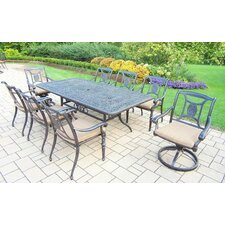 Fresh Victoria 9 Piece Dining Set with Cushions