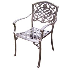 Mississippi Stackable Dining Arm Chair (Set of 4)