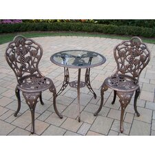 Coupon Vineyard 3 Piece Bistro Set