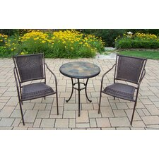 Find Stone Art 3 Piece Bistro Set