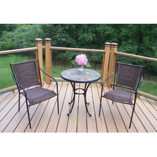 #2 Stone Art 3 Piece Bistro Set