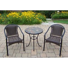 2017 Online Stone Art 3 Piece Bistro Set