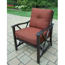 Haywood Deep Seating Chair with Cushions (Set of 2)