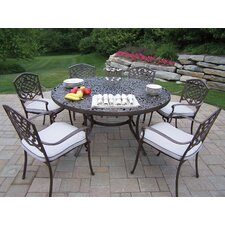 Bargain Mississippi Dining Set with Cushions