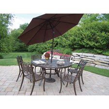 Today Only Sale Mississippi Dining Set with Umbrella