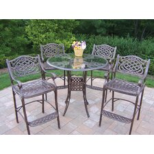 Hummingbird Mississippi 5 Piece Bar Set