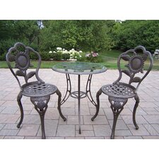 Sunflower 3 Piece Bistro Set