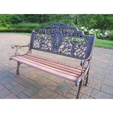 Golfer Aluminum Garden Bench