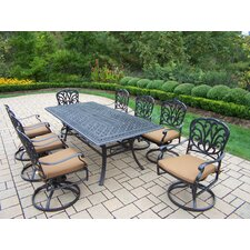 Hampton 9 Piece Dining Set with Cushion