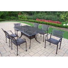Rose 7 Piece Dining Set