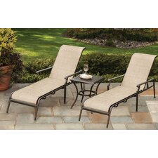 Bali 3 Piece Chaise Lounge Set