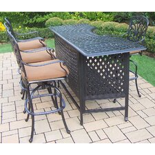 Hampton 5 Piece Party Bar Set