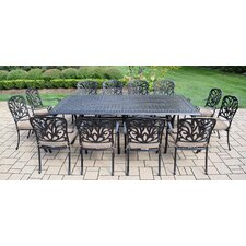 Hampton 13 Piece Dining Set with Cushions