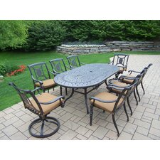 Today Only Sale Victoria 9 Piece Dining Set with Cushions
