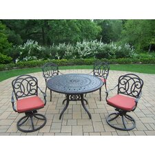 Berkley 5 Piece Dining Set with Cushions