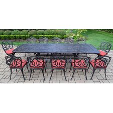 Discount Berkley 13 Piece Dining Set with Cushions