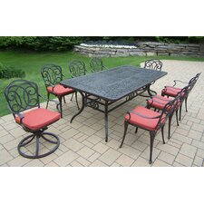 Berkley 11 Piece Dining Set with Cushions
