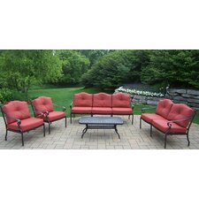 Berkley 5 Piece Deep Seating Group with Cushions
