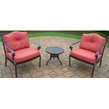 Berkley 3 Piece Deep Seating Group with Cushions