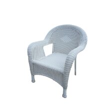 Resin Wicker Arm Chair (Set of 2)