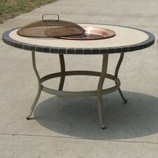 Stone Art Fire Pit Table