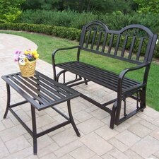 Rochester 2 Piece Bench Seating Group Set