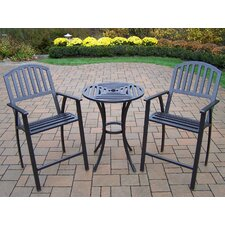 Rochester 3 Piece Bar Set