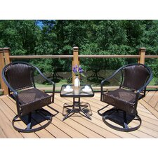 Tuscany 3 Piece Lounge Seating Group Set