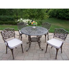 Amazing Mississipp Dining Set with Cushions